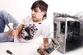 Réparation d'ordinateurs — Photo