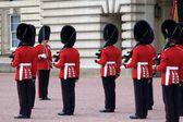 Royal Palace Guard Changing — Stock Photo