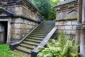 Staircase at London Cemetery — Stockfoto