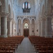 Nave in cathedral — Stock Photo
