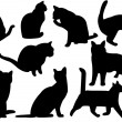Royalty-Free Stock Imagen vectorial: Cats
