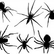 Royalty-Free Stock Vector Image: Spiders