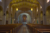 Church interior, HDR — Stock Photo