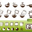 Cooking signs, set - Stock Vector