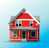 Family House — Stock Vector