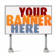 Stock Vector: Billboard