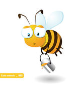 Honeybee — Stock Vector