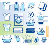 Laundry — Stock Vector
