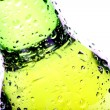 Beer bottle abstract isolated — Stock Photo #3892478