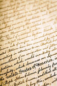 Declaration of Independence background — Stock Photo