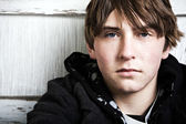Teen male portrait — Stock Photo