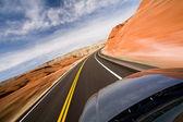 ドライブ — ストック写真
