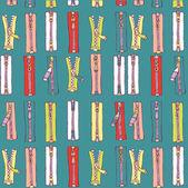 Zipper vector pattern — Stock Vector