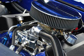 Engine from 1967 Muscle Car — Stock Photo