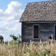 Little House on the Kansas Prairie — Stock Photo