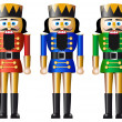 Royalty-Free Stock Vector Image: Christmas nutcracker