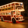 Stock Photo: Christmas Bus