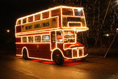 Christmas Bus — Stock Photo
