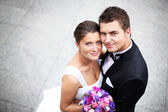 Wedding couple — Stock fotografie