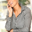 Business woman on the phone — Stock Photo #3894938