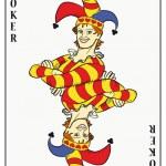 symetryczny jokera — Wektor stockowy