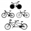 Bicycles - Imagen vectorial