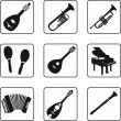 Musical Instruments — Stock Vector #3903322