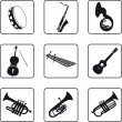 Musical Instruments — Stock Vector #3903325