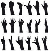 Hands — Stock Vector