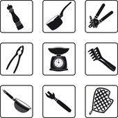 Kitchen supplies — Stock Vector