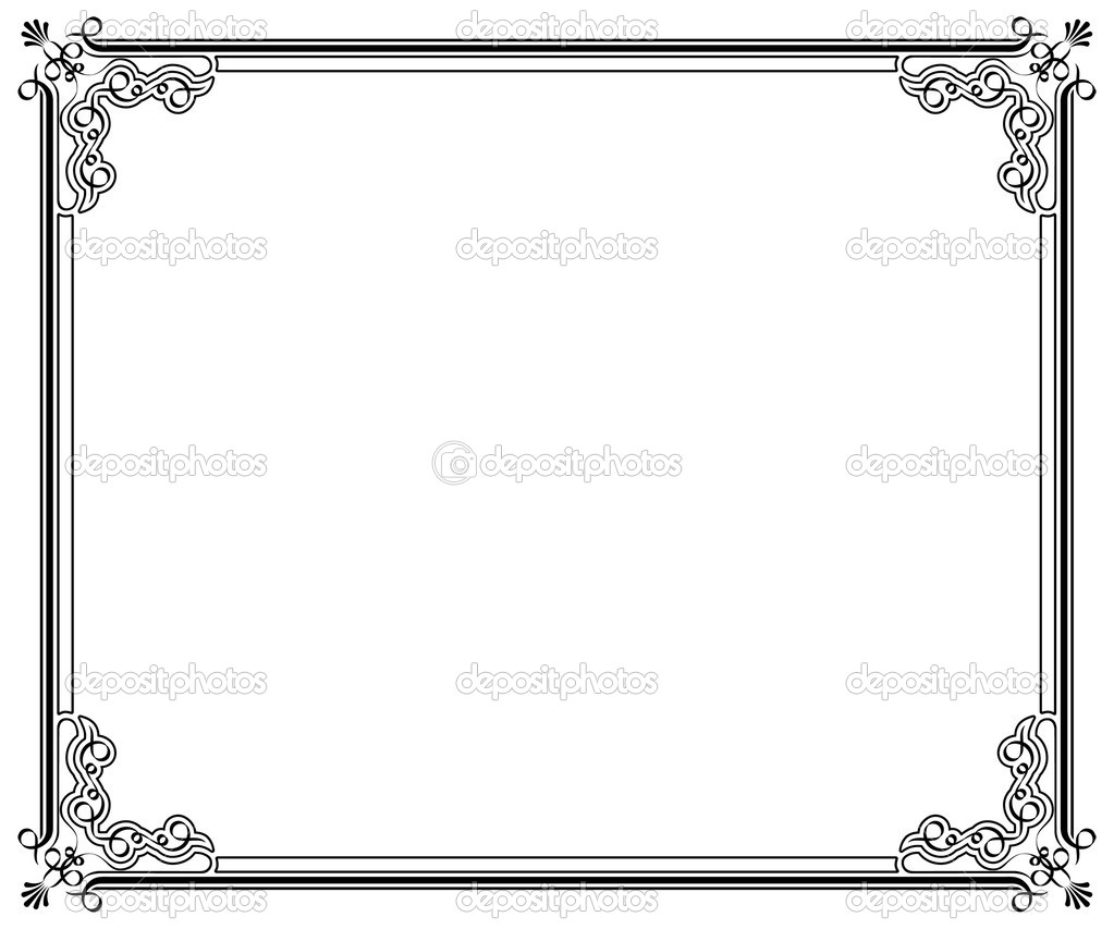 Corners and borders page decoration — Stock Vector #3902734