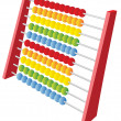 Abacus 3d icon — Stock Vector