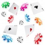 Casino seamless pattern — Stock Vector