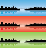 Colourful Istanbul — Stock Vector