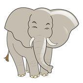 Baby elephant — Stock Vector