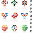 Maze icons — Stock Vector #3891401
