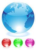 Globes — Vecteur