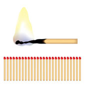 Matches — Stock Vector