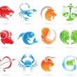 Zodiacs - Stock Vector