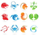 Zodiacs — Stok Vektör