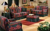 South west living room set — Stock Photo