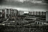 Strezhevoy city — Stock Photo