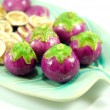 Thai purple eggplant — Stock Photo #3896058