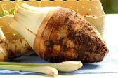 Taro wortel — Stockfoto