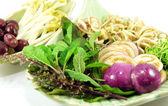 Sliced Thai vegetables — Stock Photo