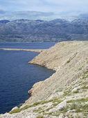View to velebit mountains — Stock Photo
