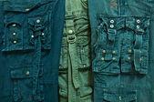 许多长裤子 — 图库照片