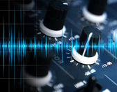 Mixer and wave — Stock Photo