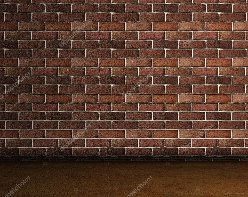 Frontal image of a brick wall — Stock Photo #3882336