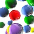 colored balls — Stock Photo